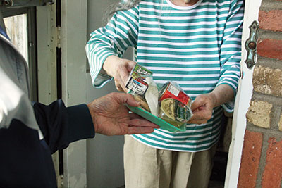Meals On Wheels clients & deliveries