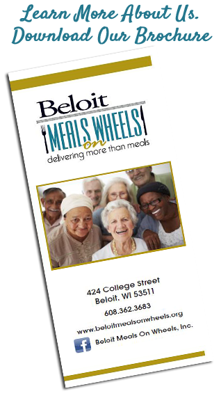 meals on wheels brochure