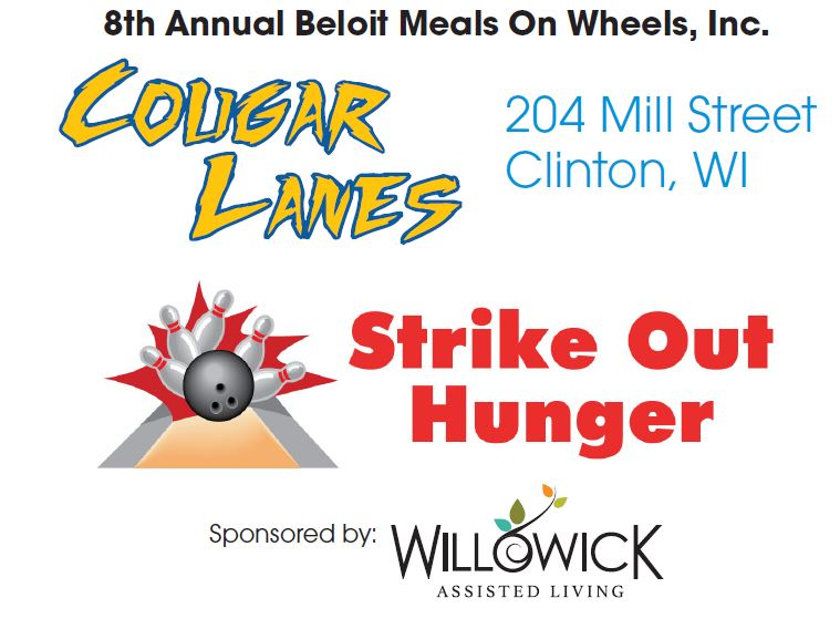 8th Annual Strike Out Hunger Bowling Fundraiser @ Cougar Lanes | Clinton | Wisconsin | United States