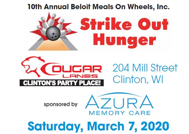10th Annual Strike Out Hunger Bowling Fundraiser @ Cougar Lanes | Clinton | Wisconsin | United States