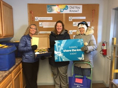 Blizzard Boxes delivered to Beloit Meals on Wheels clients