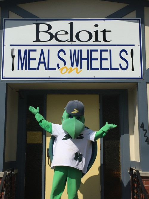 Snappers Players Step Up To The Plate for Meals on Wheels