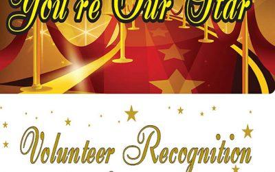 Volunteer Recognition Luncheon held April 19