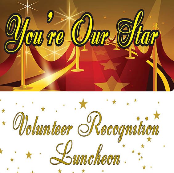 Volunteer Recognition Luncheon held April 19